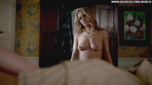 Anna Paquin True Blood Topless Posing Hot Nude Scene Sex Bed Floor