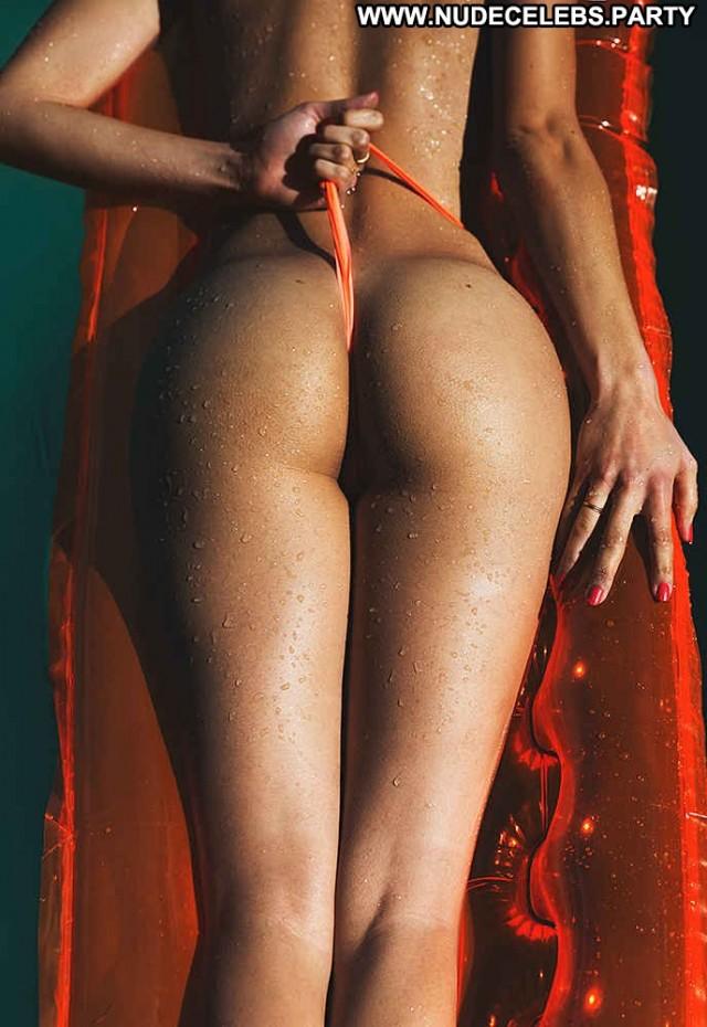 Elisa Meliani Photo Shoot Boobs Brunettes Big Tits Bikini Celebrity