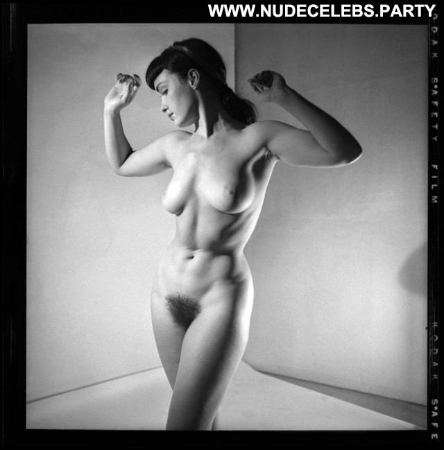 Bettie Page Black And White Celebrity Cute Big Boobs Boobs Big Tits