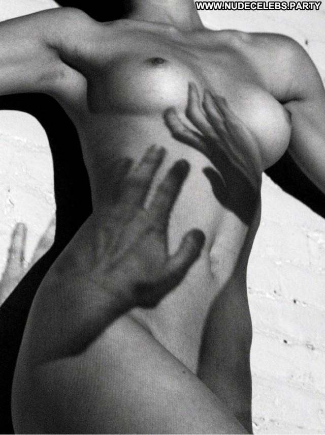 Monika Jac Black And White Black Posing Hot Celebrity Hot Nude