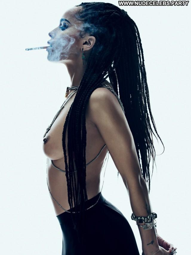 Zoe Kravitz Photo Shoot Doll Nude Celebrity Black Sensual Magazine