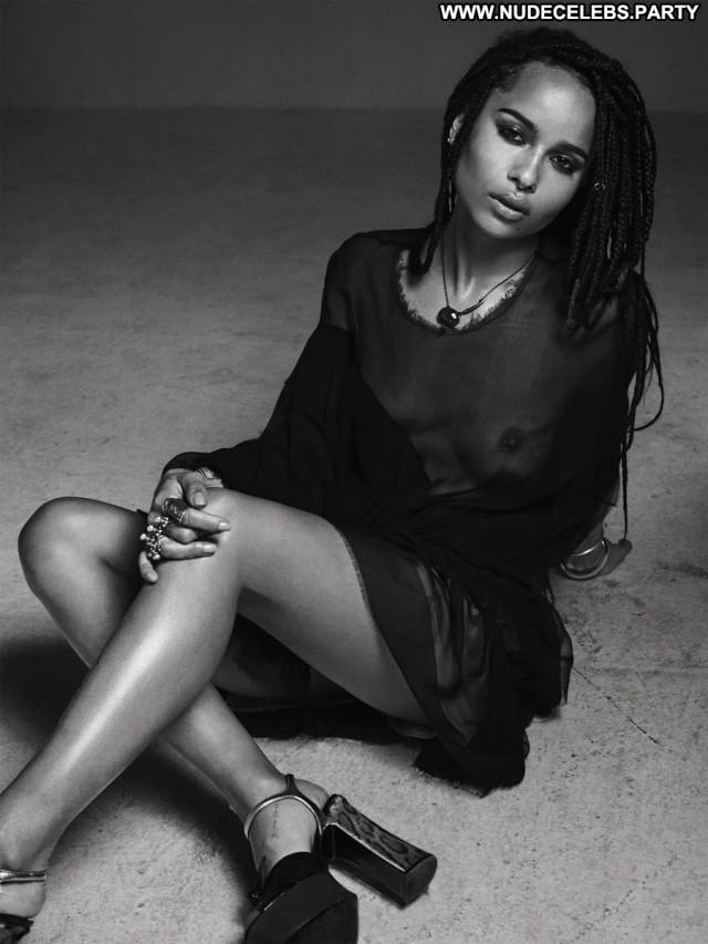 Zoe Kravitz Photo Shoot Black Celebrity Nude Gorgeous Doll Magazine