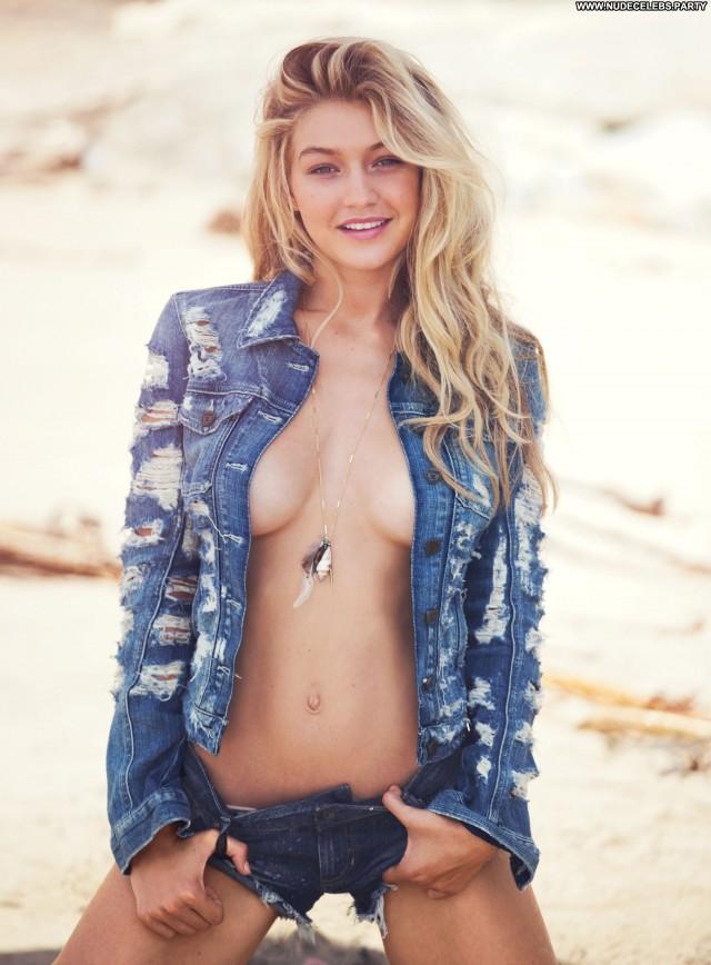 Gigi Hadid David Bellemere Beach Solo Big Boobs Nude Summer Fashion