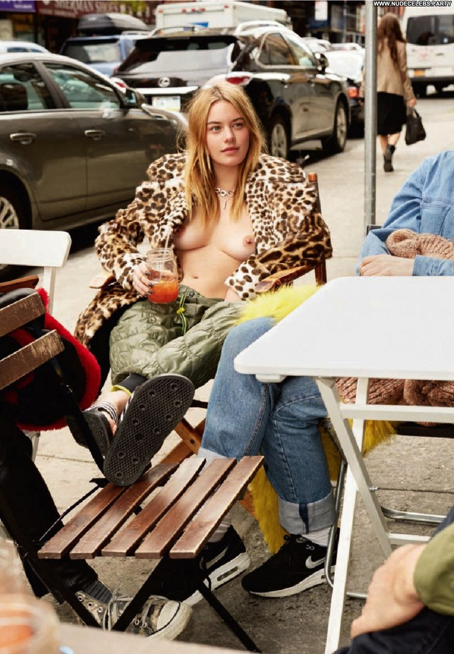 Camille Rowe Magazine  Nude Topless Boobs Big Boobs Blondes Celebrity