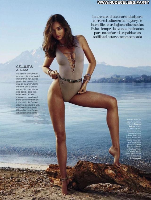Miranda Kerr Elle Spain Sexy Gorgeous Celebrity Nice Posing Hot Nude