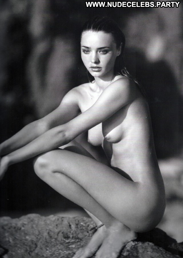 Miranda Kerr Black And White  Full Frontal Celebrity Doll Posing Hot