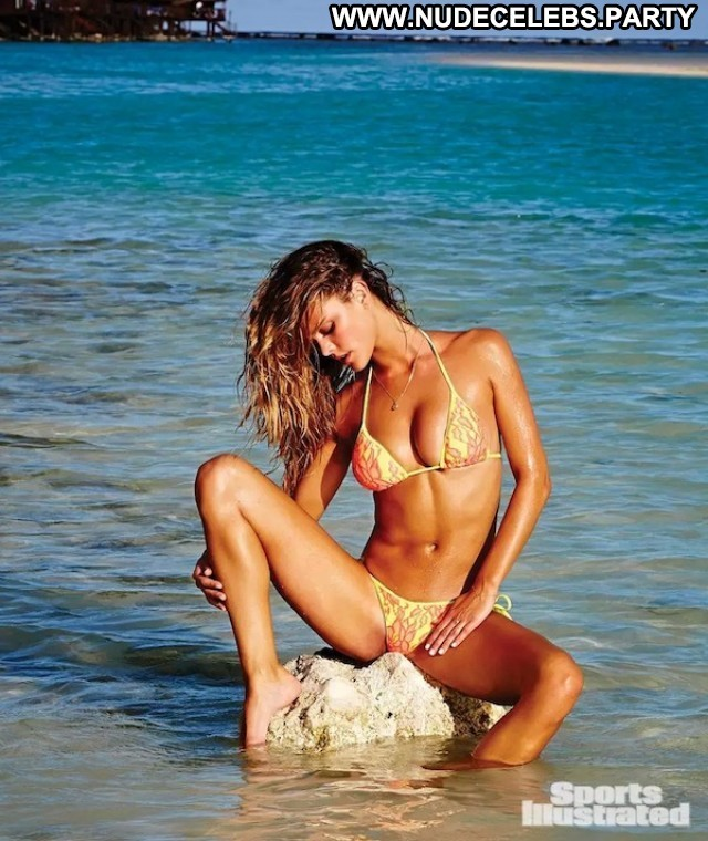 Nina Agdal Sports Illustrated Swimsuit See Through Sports Celebrity