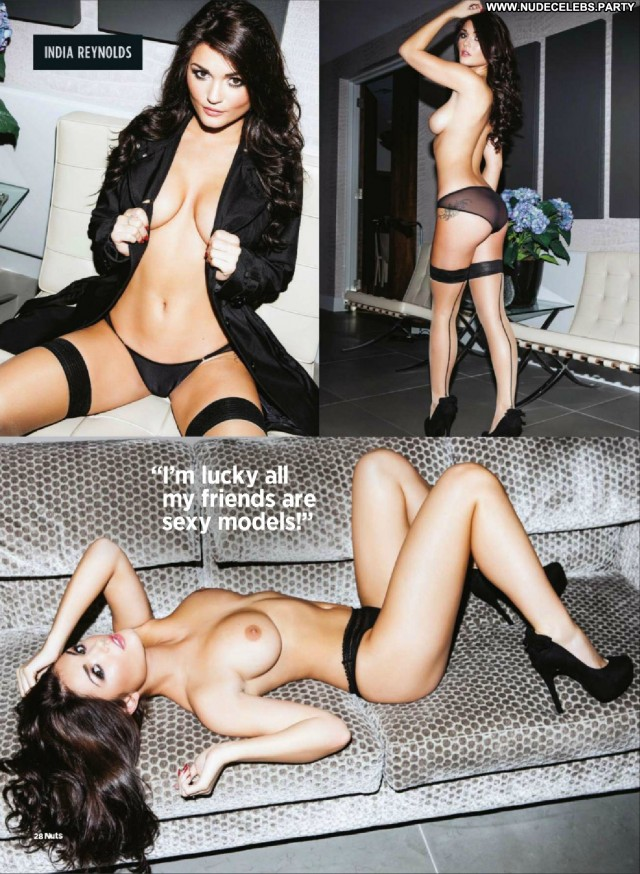 India Reynolds Lingerie Nude British Brunettes Lingerie Celebrity Big