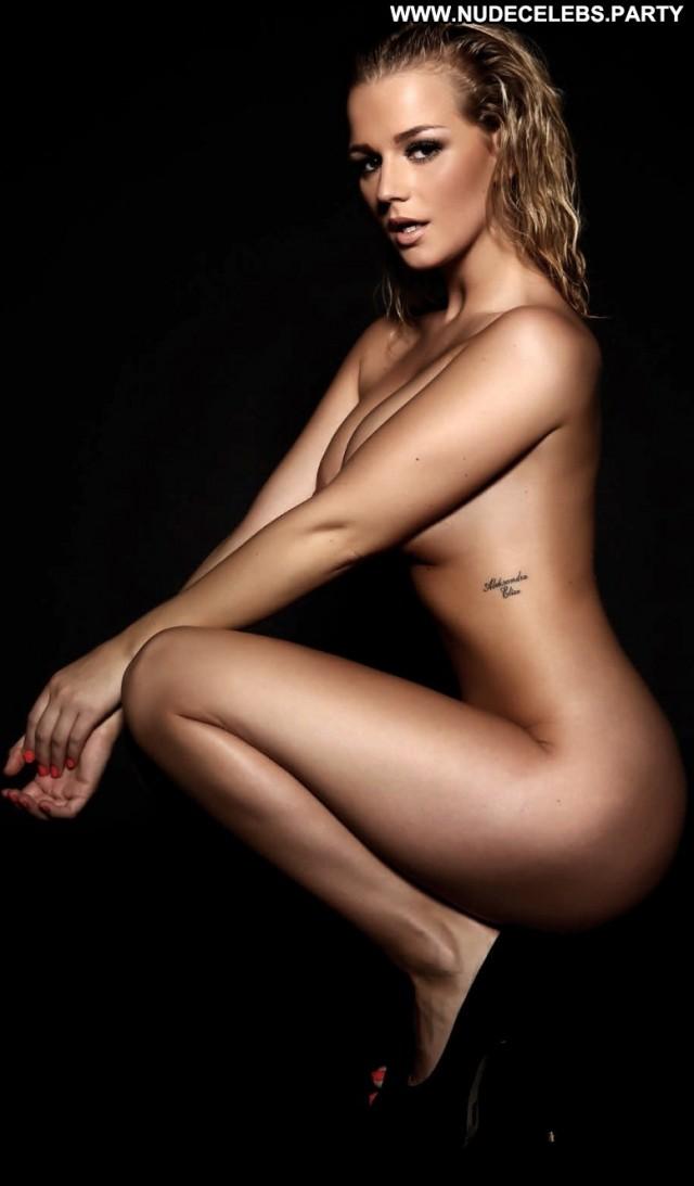 Holly Eriksson Photo Shoot Boobs Big Tits Celebrity British Blondes