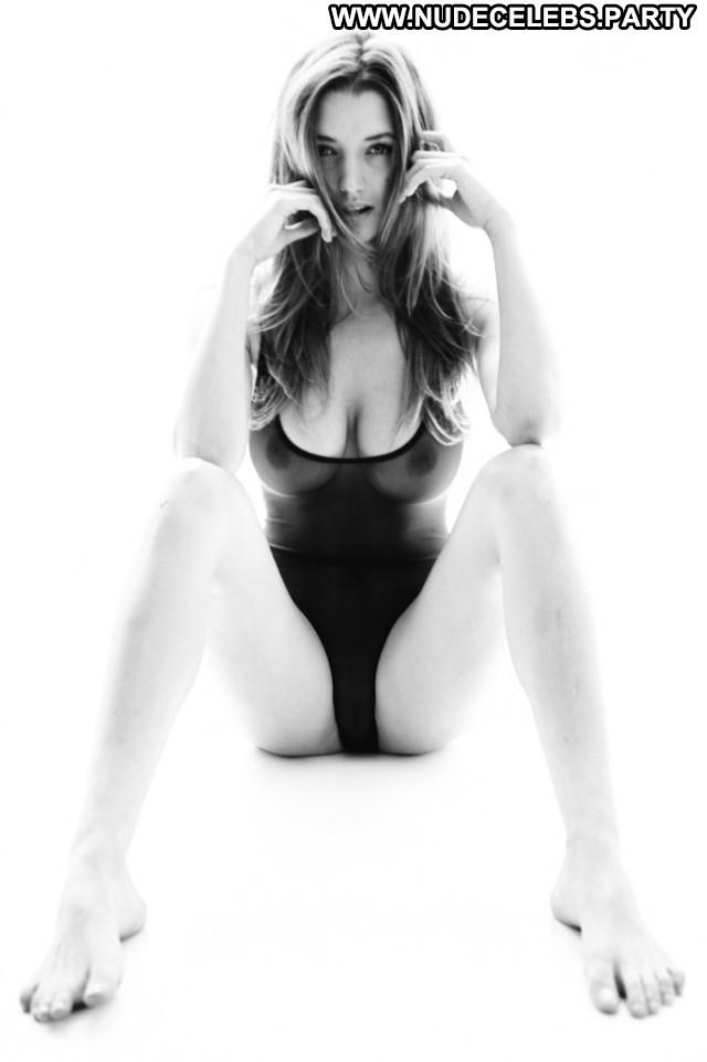 Alyssa Arce Black And White Big Boobs Nude Posing Hot Magazine Big