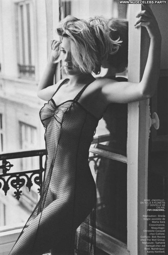 Lea Seydoux Blue Is The Warmest Color Sultry Black Beautiful Nude