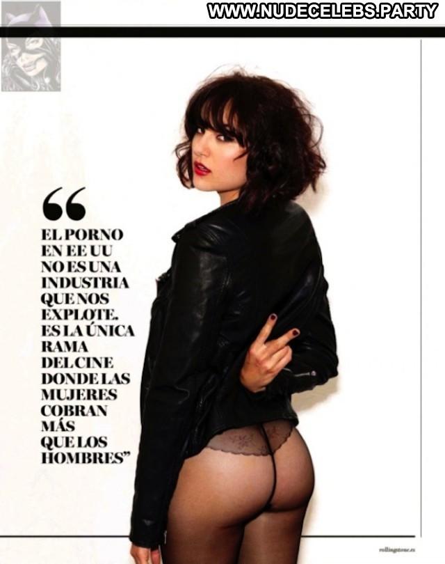 Sasha Grey Photo Shoot Posing Hot Topless Brunettes Celebrity Cute