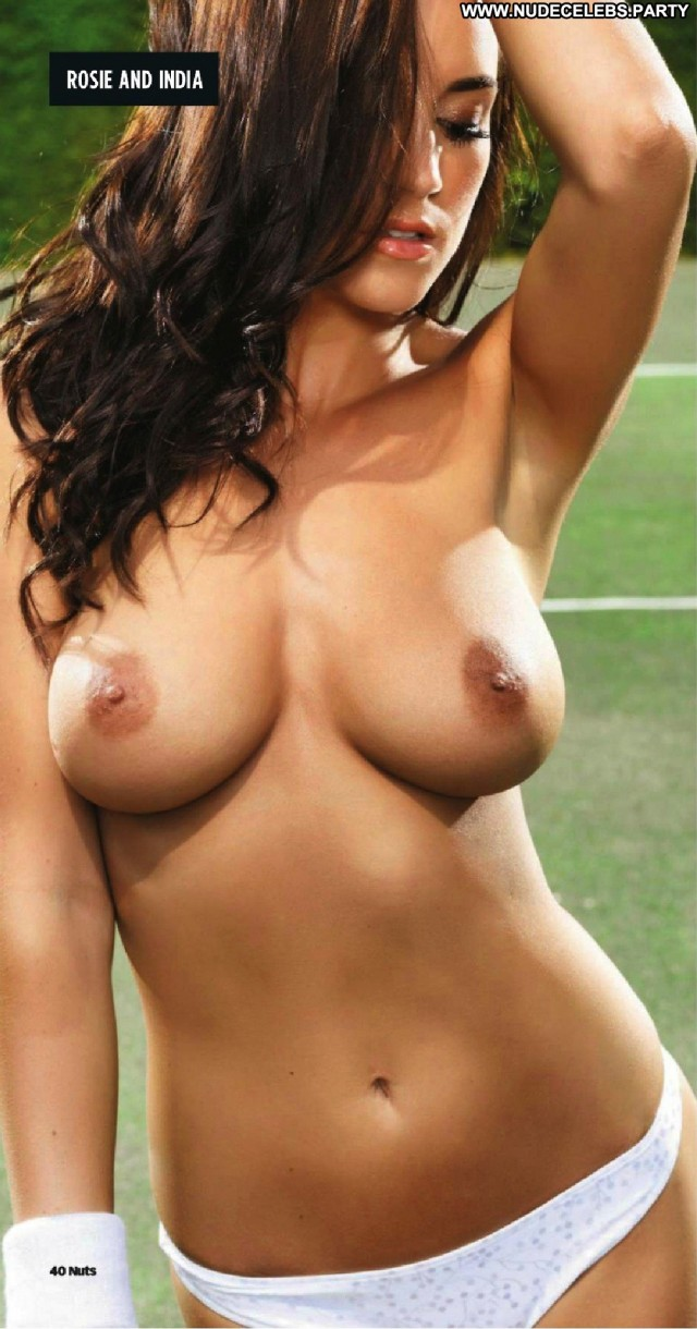 India Reynolds Photo Shoot Nude Big Tits Tennis Topless Boobs
