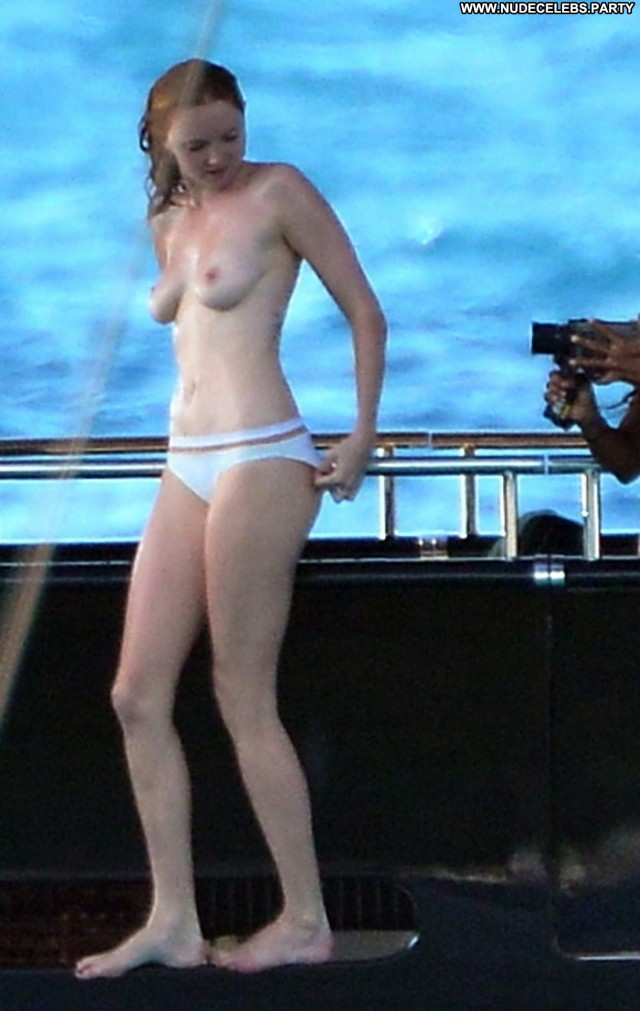 Lily Cole Paparazzi Hot Posing Hot Topless Nude Gorgeous Celebrity