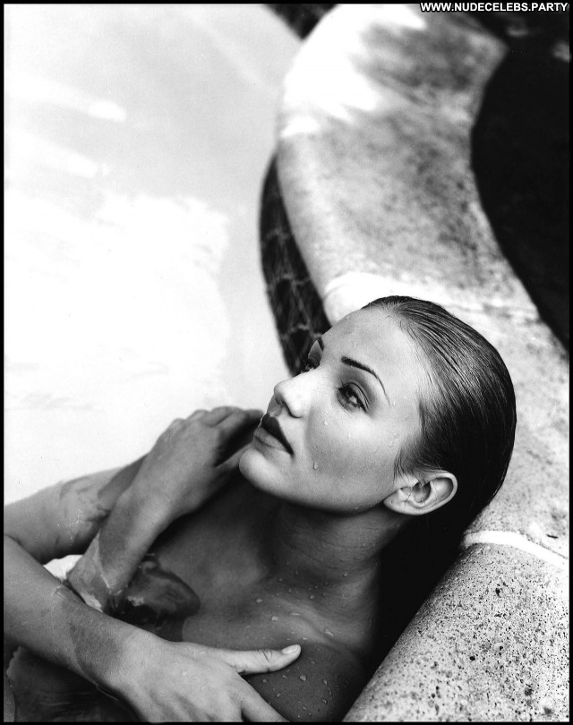 Cameron Diaz Black And White Hot Pretty Blondes Nude Celebrity Sultry