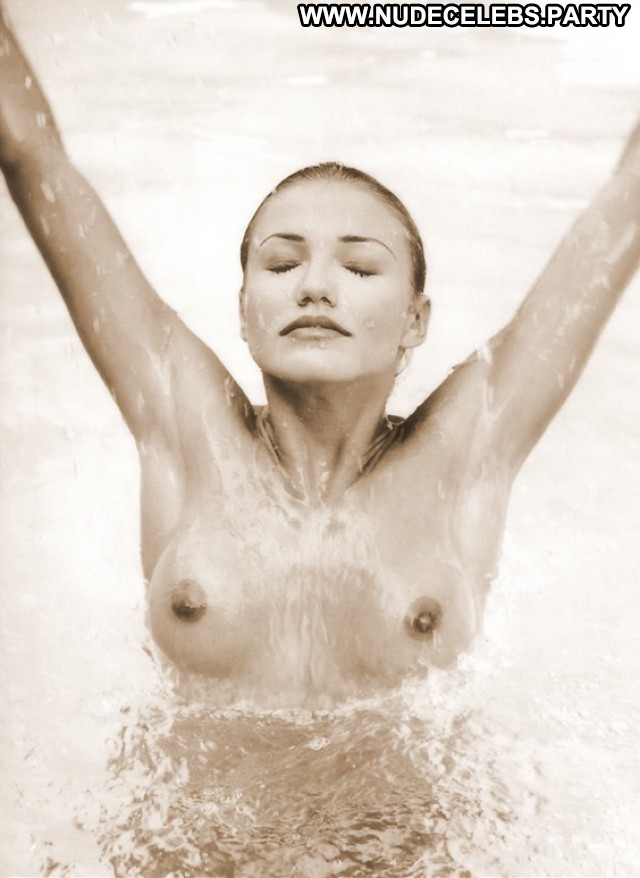 Cameron Diaz Black And White Celebrity Hot Blondes Black Pretty