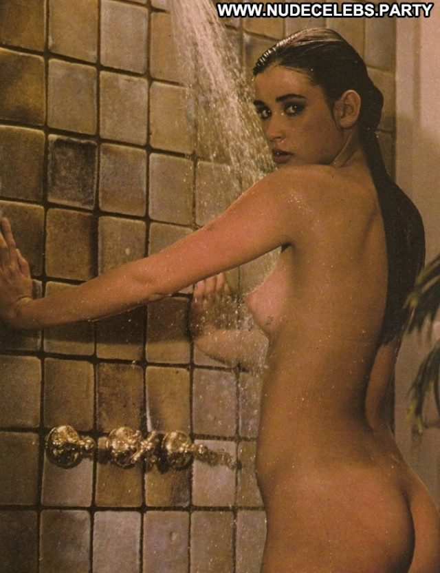 Demi Moore Photo Shoot Celebrity Brunettes Nice Pretty Bush Crazy Nude