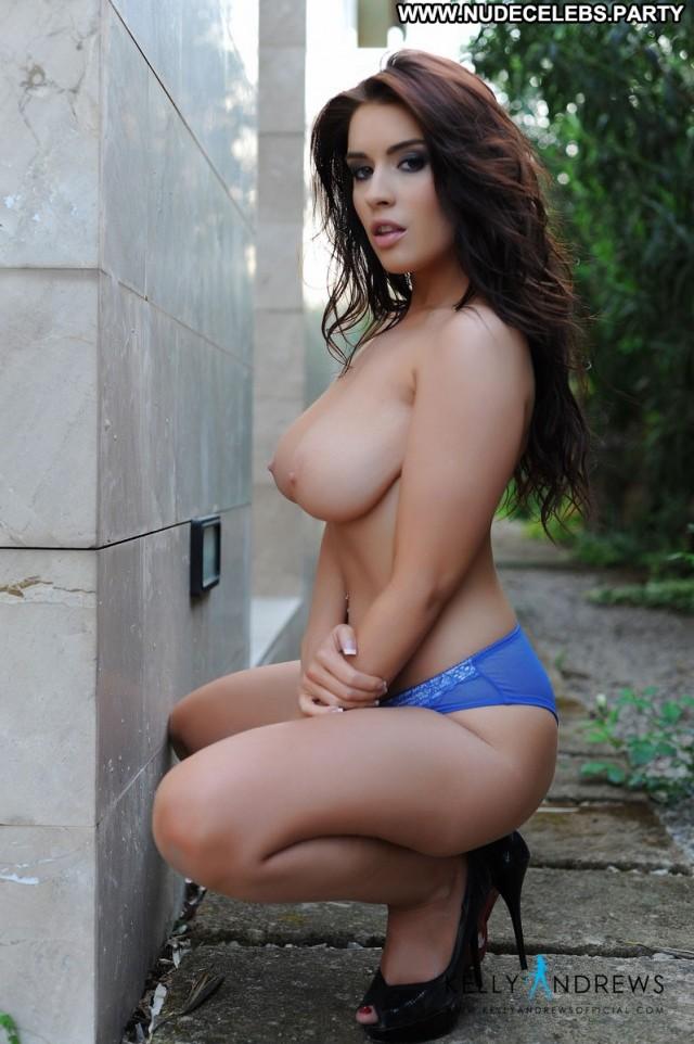 Kelly Andrews Photo Shoot Big Tits British Celebrity Boobs Brunettes