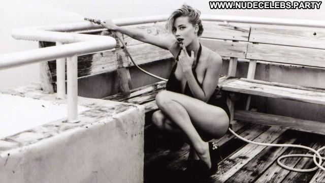 Amber Heard Hot Chick Big Tits Celebrity Nude Lesbian Hot Blondes