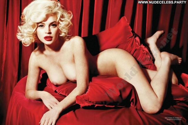 Lindsay Lohan Photo Shoot Cute Pretty Beautiful Celebrity Nude Hot