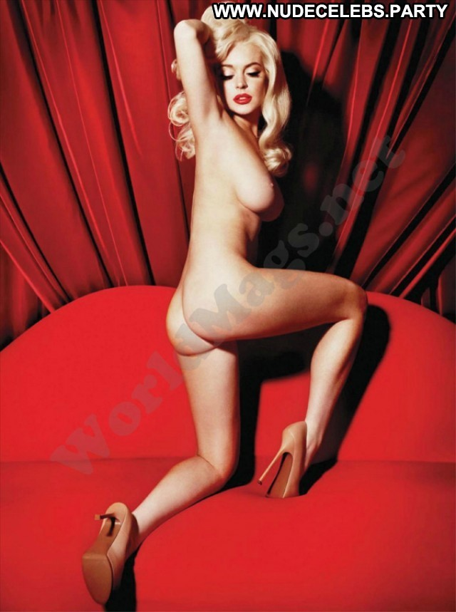Lindsay Lohan Photo Shoot Doll Beautiful Nude Cute Pretty Celebrity