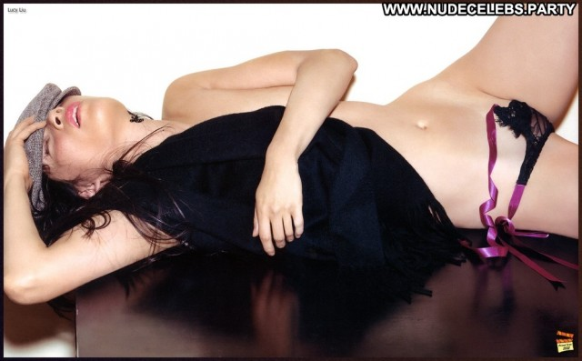 Lucy Liu Photo Shoot Gorgeous Nude Brunettes Doll Celebrity Asian