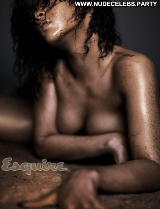 Rihanna Esquire Magazine Celebrity Beautiful Nude Nice Magazine