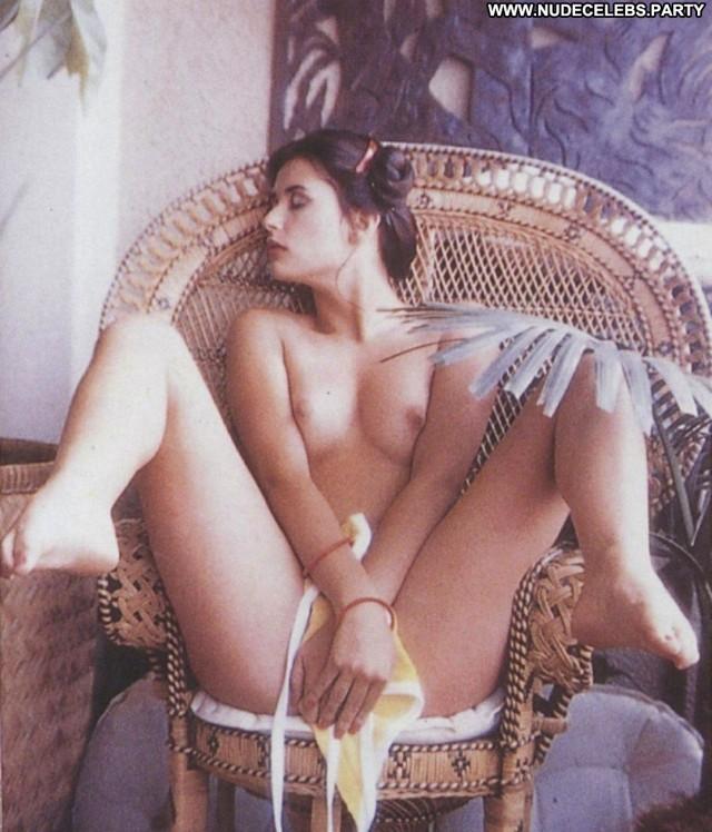Demi Moore Photo Shoot Cute Bush Posing Hot Retro Nude Celebrity