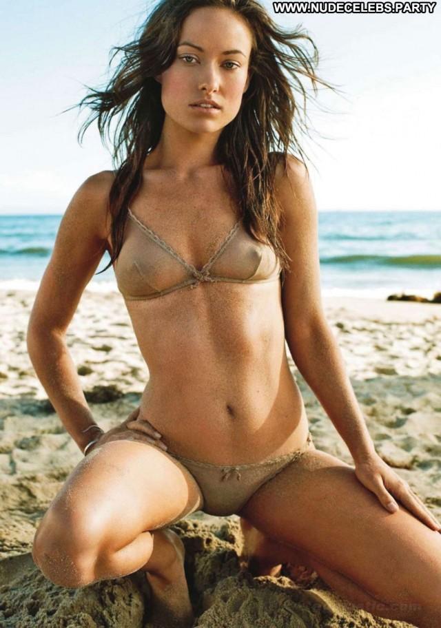 Olivia Wilde Hot Chick  See Through Bikini Pretty Nude Celebrity