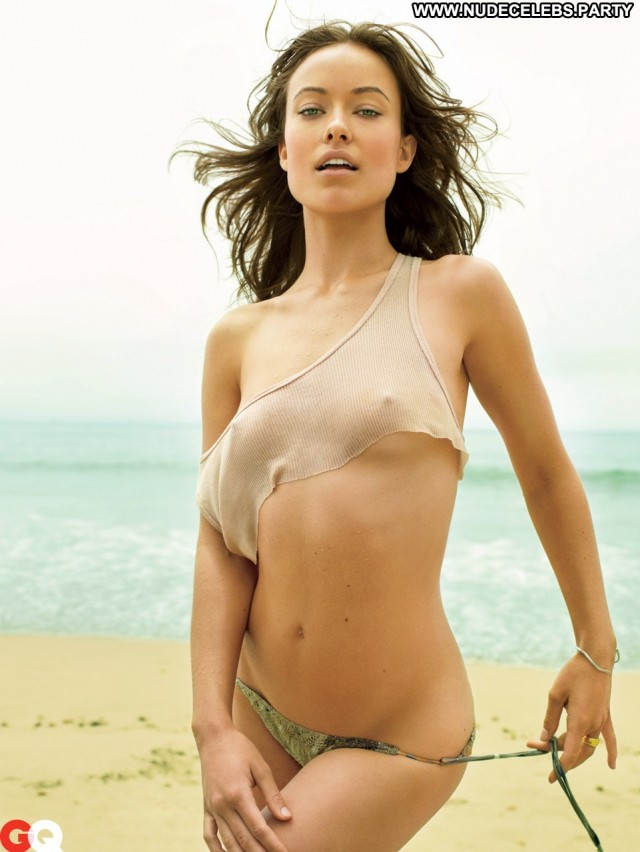Olivia Wilde Hot Chick Nude Celebrity Pretty Bikini Hot See Through