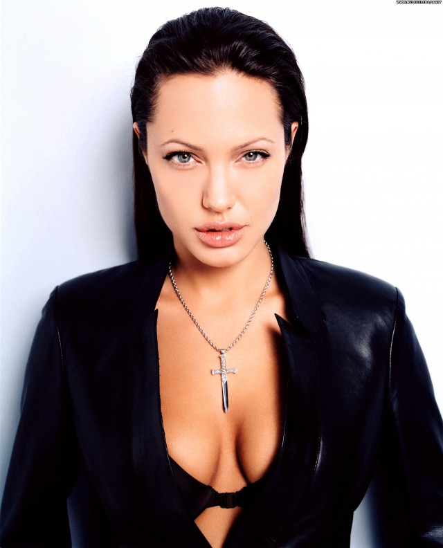 Angelina Jolie Photoshoot Beautiful Celebrity Hot Sultry Posing Hot