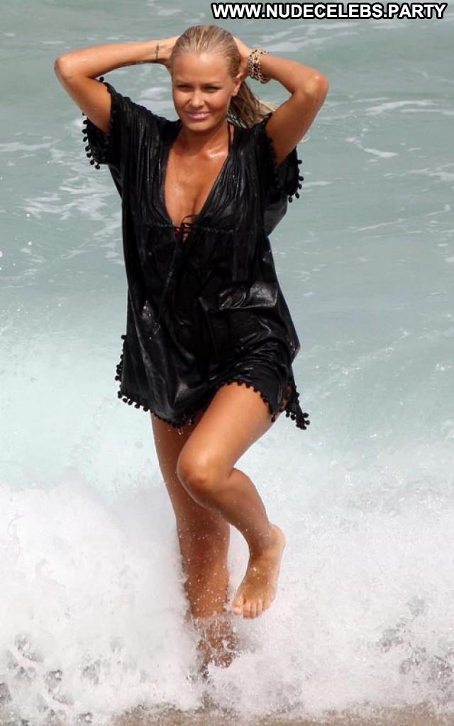 Lara Bingle Photoshoot Beautiful Celebrity Sultry Photoshoot Beach