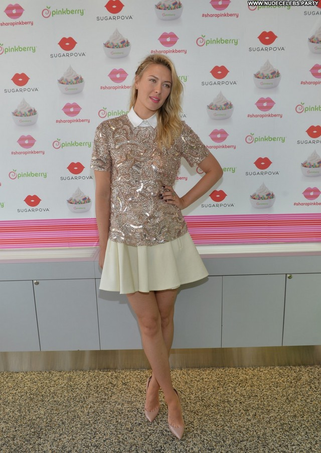 Maria Sharapova Up In The Air  Gorgeous Sultry Celebrity Nice Cute