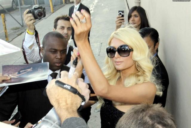 Paris Hilton Jimmy Kimmel Live Los Angeles Hot Stunning Live Pretty