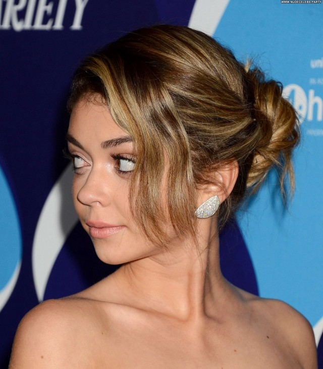 Sarah Hyland Beverly Hills Pretty Sexy Posing Hot Beautiful Celebrity