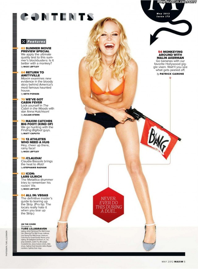 Malin Akerman Magazine Beautiful Sexy Cute Gorgeous Sensual Celebrity