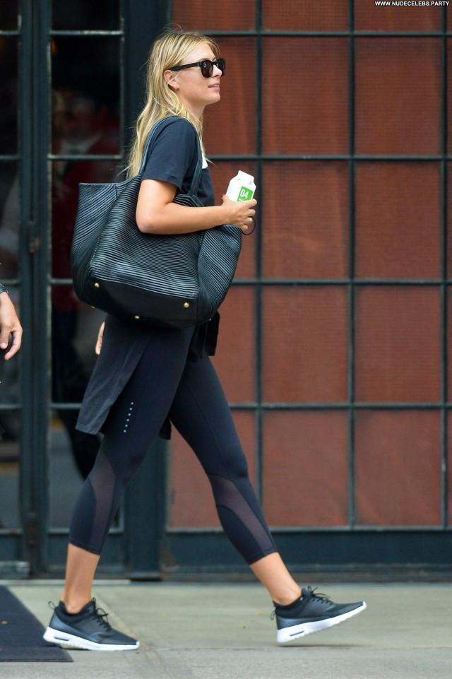 Maria Sharapova New York Pretty Sensual Celebrity Stunning Hot Posing