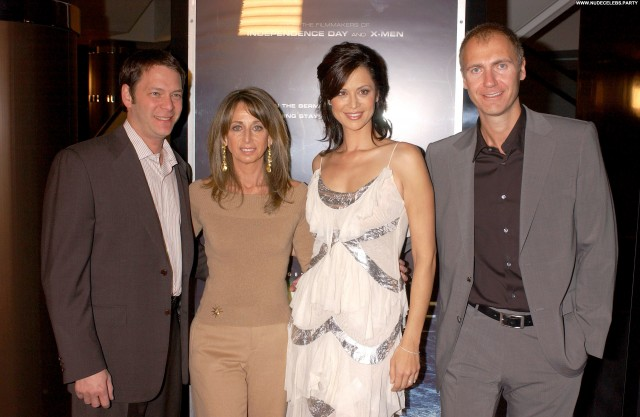 Catherine Bell Fashion Show Sexy Celebrity Beautiful Red Carpet