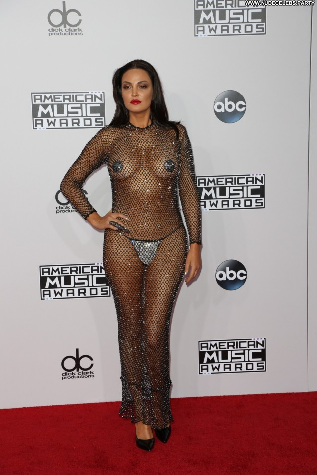 Bleona Qereti American Music Awards  Celebrity Sultry Cute Nice