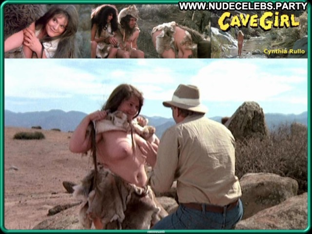 Cynthia Rullo Cave Girl Pretty Hot Brunette Celebrity Sexy Sultry