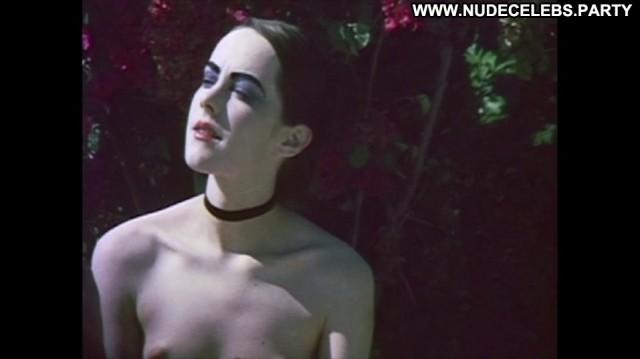Jena Malone The Painted Lady Brunette Posing Hot Small Tits Celebrity