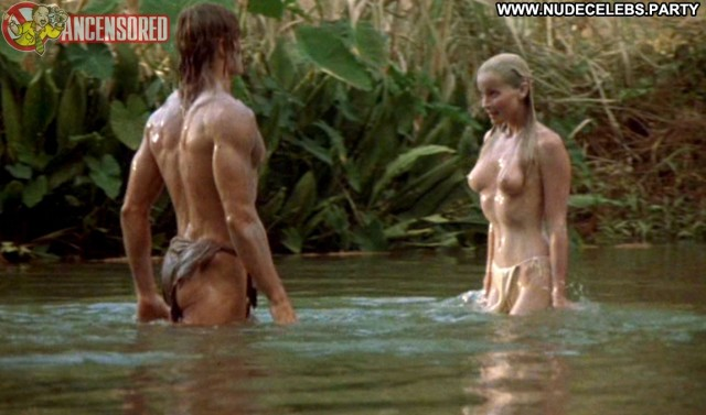 Bo Derek Tarzan The Ape Man Brunette Stunning Hot Sultry Medium Tits