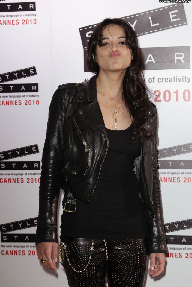 Michelle Rodriguez Cannes Film Festival Posing Hot France Beautiful