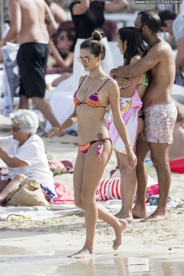 Alessandra Ambrosio No Source  Celebrity Babe Candids Bikini France