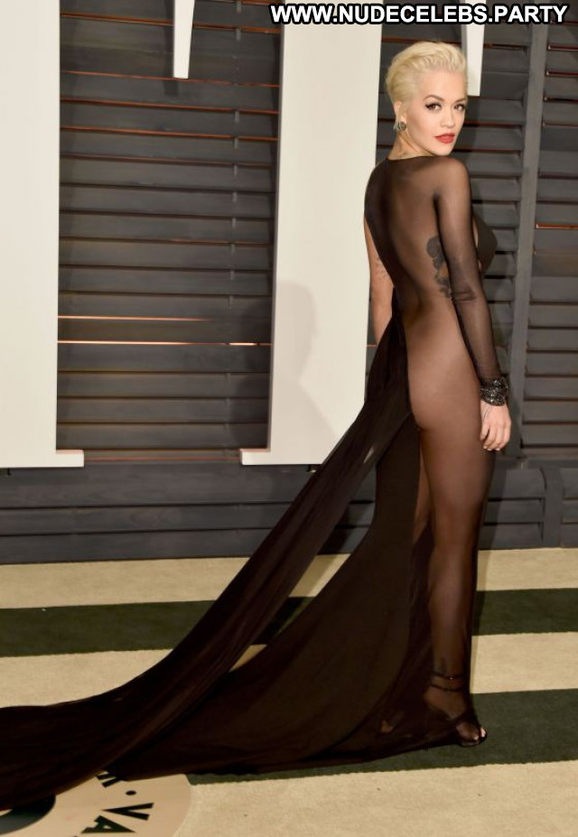 Rita Ora Vanity Fair Party Babe Beautiful Celebrity Posing Hot