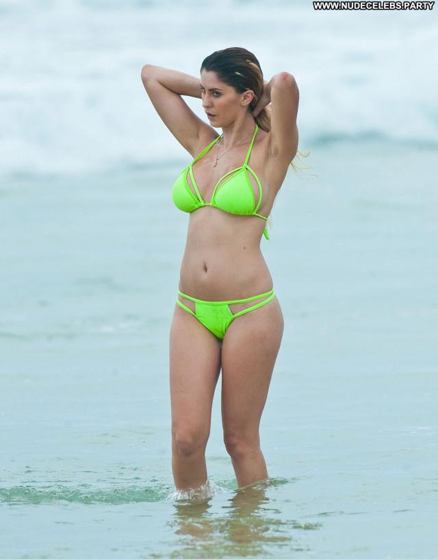 Larissa Bartolo No Source Beautiful Celebrity Posing Hot Beach Bikini