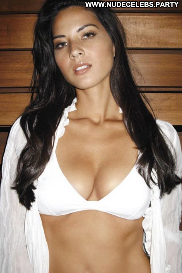 Olivia Munn Iron Man  Beautiful Babe Celebrity Posing Hot Sexy