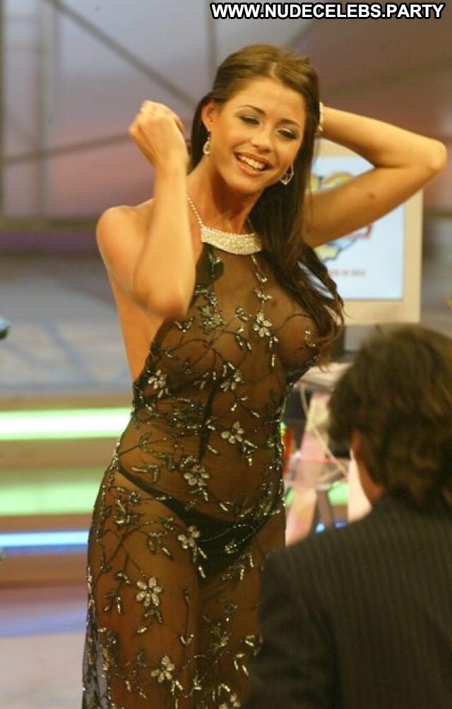 Aida Yespica A Gun Beautiful Babe See Through Posing Hot Celebrity