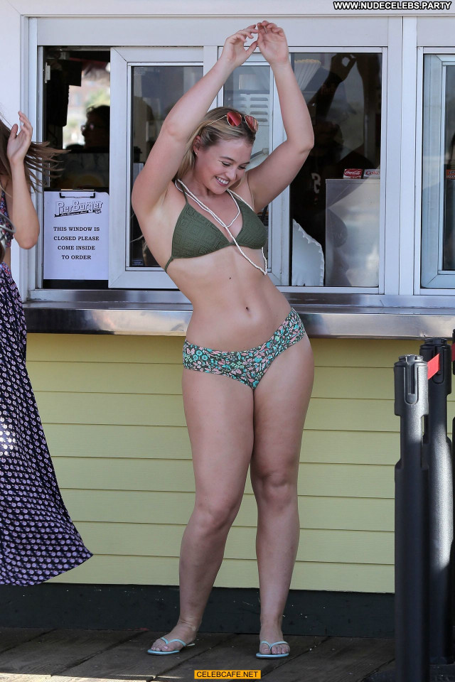 Iskra Lawrence No Source Posing Hot Swimsuit Sex Bikini Sexy