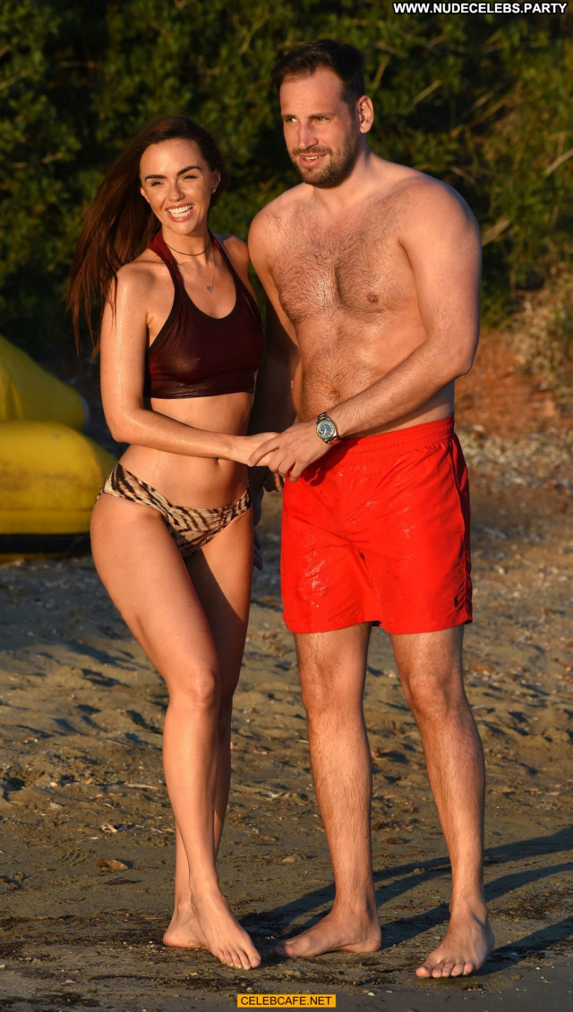 Jennifer Metcalfe No Source Ibiza Wet Babe Bikini Beach Celebrity